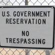 Royalty-Free Stock Photo: US Government Property