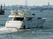 Gros plan d'un yacht — Photo