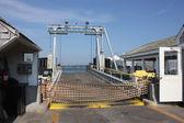 Cais do ferry em new england — Foto Stock