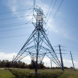 Stock Photo: Utility Line Tower
