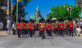 Ceremonial Guard Parade — Stock Photo