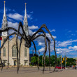 Maman spider sculpture — Stock Photo