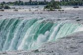 Niagara falls from the canadian side — Stock Photo