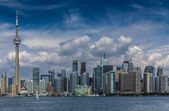 The view of Toronto City — Foto de Stock