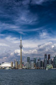The view of Toronto City — 图库照片