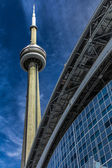 CN Tower in Toronto, Canada — Stock Photo