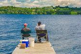 Dva rybáři — Stock fotografie