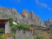 Profile of a mountain range. — Stock Photo