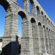 Roman aqueduct. — Stock Photo