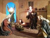 Nativity escene. — Stock Photo