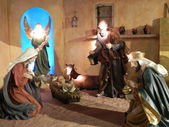 Escena de la natividad. — Foto de Stock