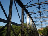 Iron bridge. — Stock Photo