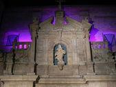 Purple facade. — Stock Photo