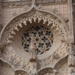 Rose window. - Foto Stock