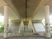 Interior of a bridge. — Foto de Stock