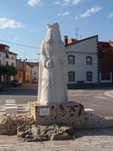 King´s statue. — Stock Photo