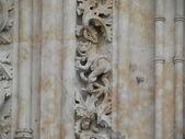 Mythologische dier van steen. — Stockfoto