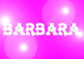 Naam: barbara. — Stockfoto