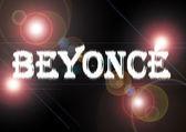 Name: Beyoncé. — Stock Photo