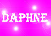 Name: Daphne. — Stock Photo