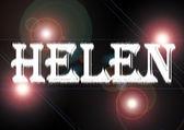 Woman name: Helen. — Stock Photo