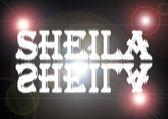 Woman name: Sheila. — Stock Photo