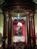 The Virgin on a pedestal. — Stock Photo