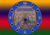 Abu Simbel clock. — Stock Photo