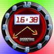 Digital clock. - 