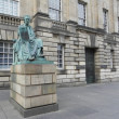 Royalty-Free Stock Photo: Statue of David Hume in Edinburgh.
