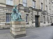 Statue of David Hume in Edinburgh. — Stock Photo