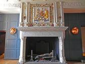 White fireplace. — Stock Photo