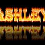 Woman name: Ashley. — Stock Photo #27807381