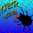 Black spider. — Stock Photo #34354401