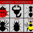 Animal shapes. — Stock Photo #37998649