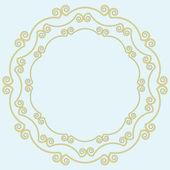 Decorative frame. — Stock Vector