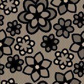 Bezešvé krajky pattern. — Stock vektor