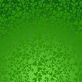 Clover gradient background.  — Stock Vector