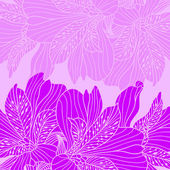 Bright magenta alstroemeria background — Stock Vector