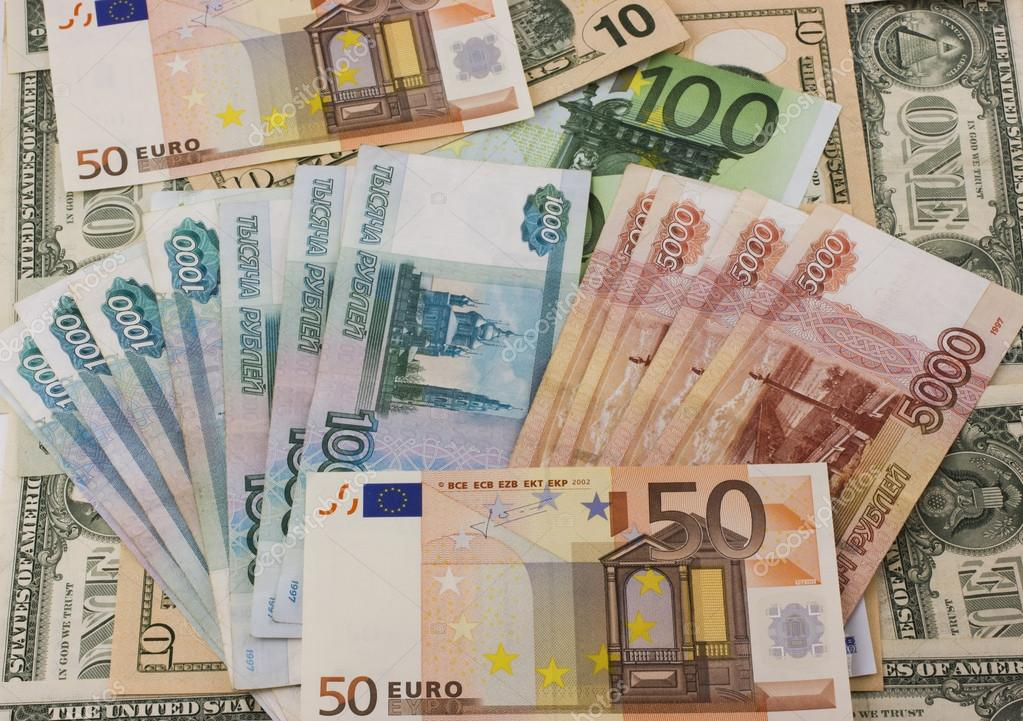 Фото много российских денег