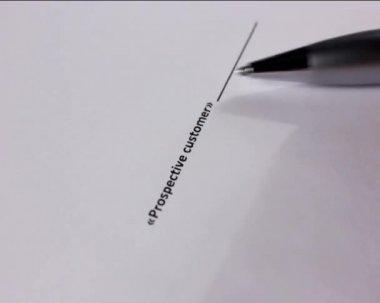 Signature — Stockvideo