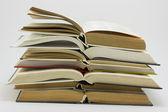 öppna böcker — Stockfoto