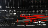 Conjunto de ferramentas — Fotografia Stock