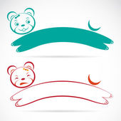 Vector image of an bear — 图库矢量图片