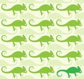 Wallpaper images of chameleon — Stock Vector