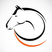 Vector image of an horse — Stock Vector