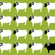 Wallpaper images of sheep  — Stockvectorbeeld