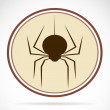 Pictures of brown spiders — Image vectorielle