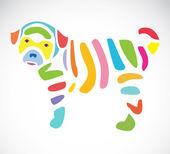 犬のベクトル画像 — ストックベクタ