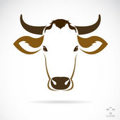 Vector image of an cow head — Wektor stockowy